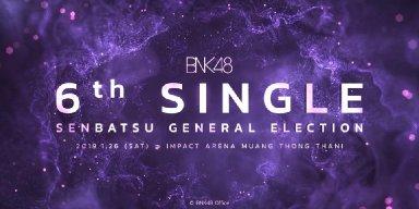 BNK48 6th Single Senbatsu general election