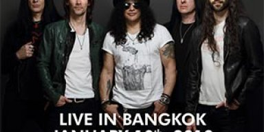 SLASH Feat.Myles Kennedy Live In Bangkok
