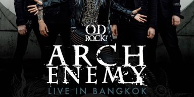 ARCH ENEMY LIVE IN BANGKOK