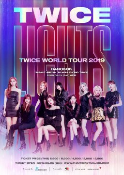 TWICE WORLD TOUR 2019 'TWICELIGHTS' IN BANGKOK