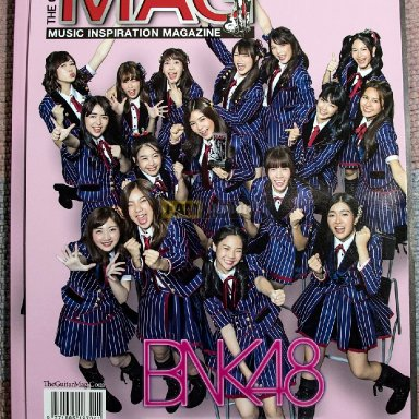 The guitar mag BNK48
